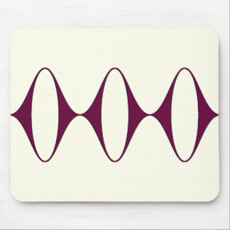 Ogee Sideways (Berry) Mouse Pad