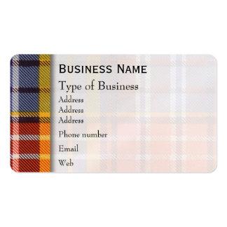 Ogilvie clan Plaid Scottish tartan Pack Of Standard Business Cards