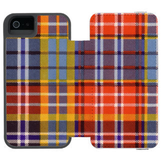 Ogilvie clan Plaid Scottish tartan Incipio Watson™ iPhone 5 Wallet Case