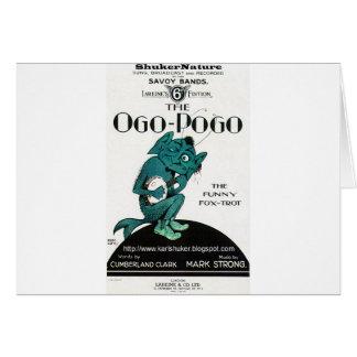 Ogo-Pogo, The Funny Fox-Trot, ShukerNature Card