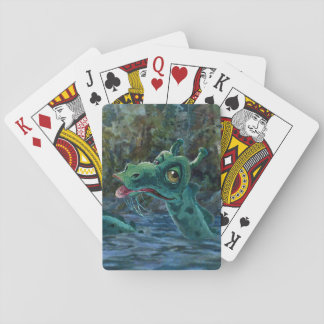 Ogopogo Up Close Playing Cards