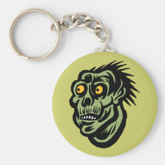 ogre basic round button key ring