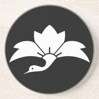 Ogre flower water caltrop crane coaster