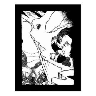 Ogre (Landslip Ogre) Postcard