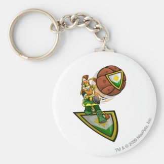 Ogrin Brightvale Player Basic Round Button Key Ring