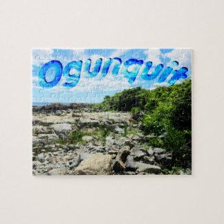 Ogunquit Coastline Jigsaw Puzzle