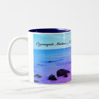 Ogunquit Maine Two-Tone Coffee Mug