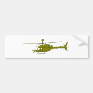 OH-58D Observation Helicopter Bumper Sticker