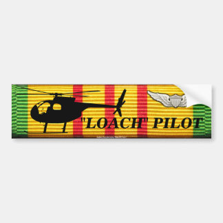 "OH-6  ""Loach"" Pilot - VSM Ribbon Bumper Sticker"