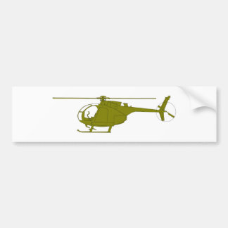 OH-6A Observation Helicopter Bumper Sticker