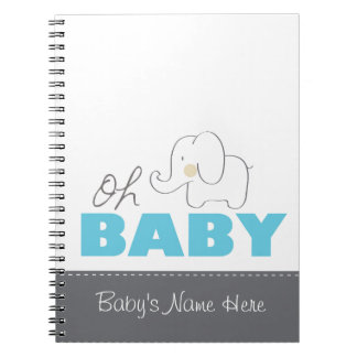 Oh Baby Elephant - Notebook