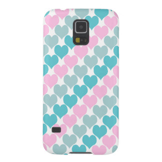 Oh Baby Hearts Pastel Galaxy S5 Covers