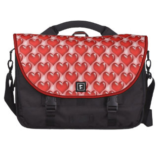 Oh Baby Hearts- Red Hot Commuter Bag