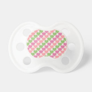 Oh Baby Hearts- Sherbet Ice Baby Pacifier
