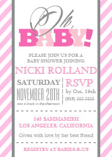 Registry Baby Shower Invitations Zazzle Au