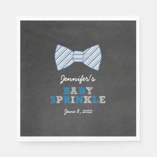 Oh Boy BowTie Baby Sprinkle Paper Napkin 3661