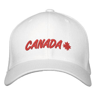 Oh Canada Embroidered Hat