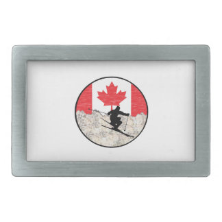 Oh Canada Rectangular Belt Buckles