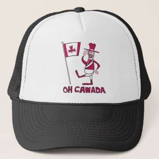 Oh Canada Trucker Hat
