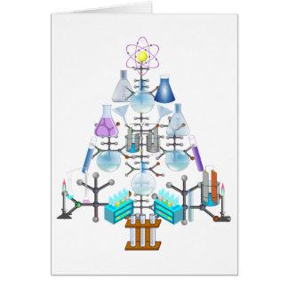 Oh Chemistry, Oh Chemist Tree Greeting Card