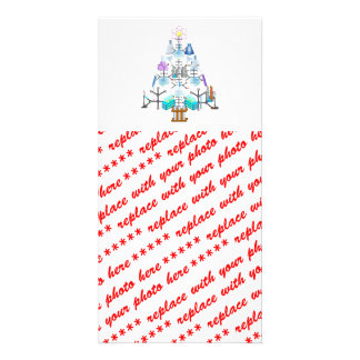 Oh Chemistry, Oh Chemist Tree Photo Greeting Card