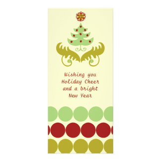 Oh Christmas Tree Custom Rack Cards