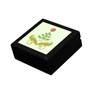 Oh Christmas Tree gifts Small Square Gift Box