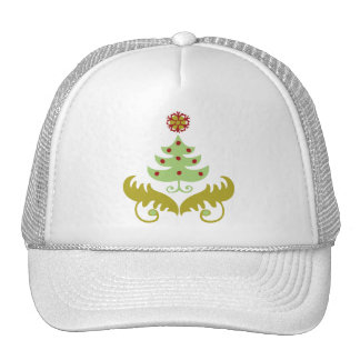 Oh Christmas Tree Mesh Hats