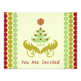 "Oh Christmas Tree 4.25"" X 5.5"" Invitation Card"