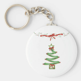 Oh Christmas Tree Basic Round Button Key Ring