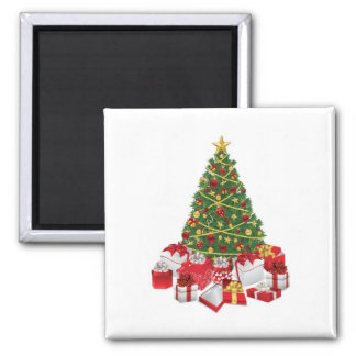 Oh Christmas tree Square Magnet
