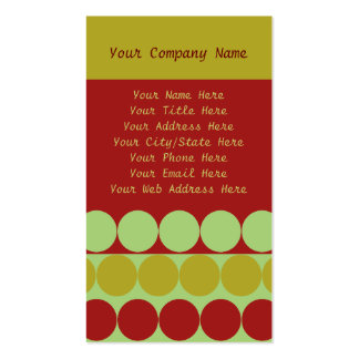 Oh Christmas Tree Pack Of Standard Business Cards