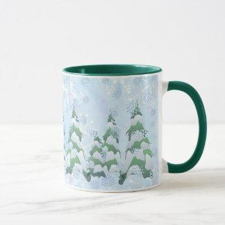 OH CHRISTMAS TREES by SHARON SHARPE Mug