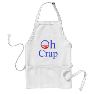 Oh Crap anti-Obama Shirts and Gifts Aprons