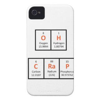 Oh Crap Periodic Table Case iPhone 4 Case