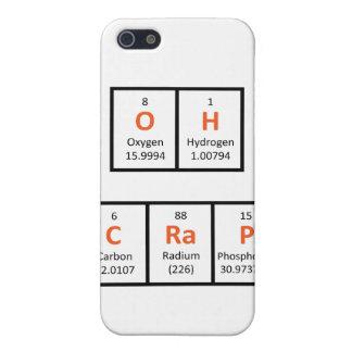 Oh Crap Periodic Table Case iPhone 5/5S Cases