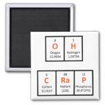 Oh Crap Periodic Table Magnet