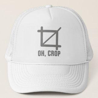 Oh Crop Trucker Hat