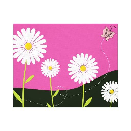 Oh Daisies! Canvas Print