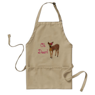 """Oh Deer"" Fawn Standard Apron"