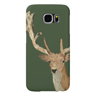 Oh Deer - Natural looking Deer - Forest Life Samsung Galaxy S6 Cases