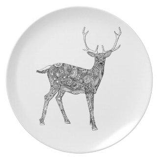 Oh Deer Plate