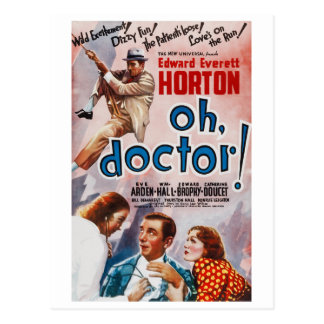 Oh, Doctor! Postcard