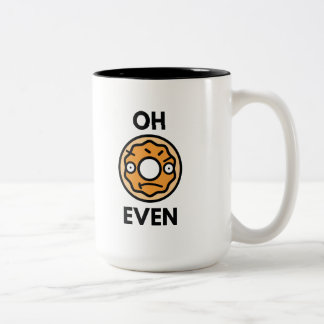 Oh Donut Even Two-Tone Coffee Mug