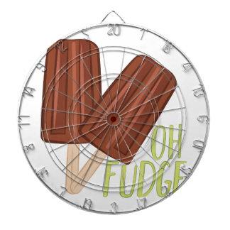 Oh Fudge Dartboard