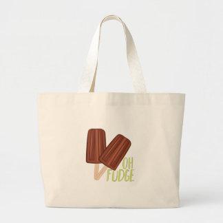 Oh Fudge Large Tote Bag