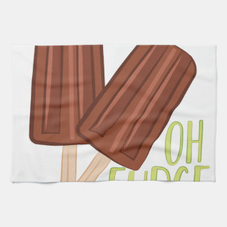 Oh Fudge Tea Towel