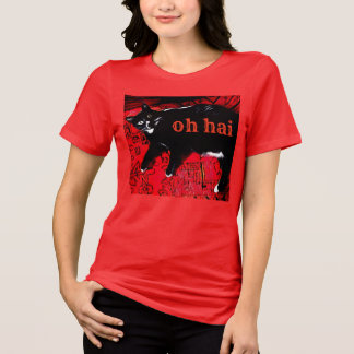 Oh Hai Relaxed Fit Jersey T-Shirt