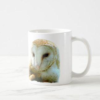 Oh Handsome Barn Owl Coffee Mugs