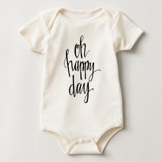 Oh happy-01 baby bodysuit